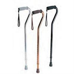 Aluminum Cane With Offset Handle