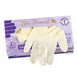 Latex Exam Gloves, Powdered