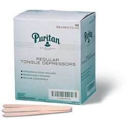 "Tongue Depressors, Senior 6"", 500/Box"