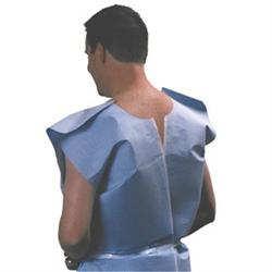 TIDI Blue Examination Capes, 3 Ply