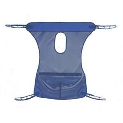 Mesh Full Body Sling W/ Commode Opening - Medium