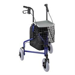 Mabis/Dmi 3 Wheel Aluminum Rollator With Tray