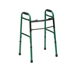 Two Button Release Aluminum Folding Walker