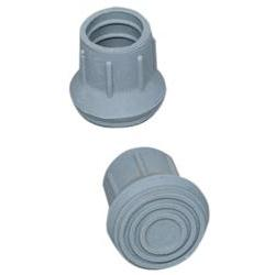 Replacement Tip for Walker, Cane or Commode, 1-1/8', Each