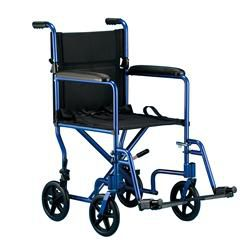 Invacare Aluminum Transfer Chair 19'