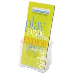 Clear Lucite Brochure Holder For 4'X9' Material