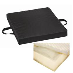 Waffle Foam/ Gel Seat Cushion W/ Waterproof Cover