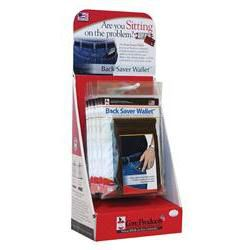 Back Saver Wallet Display (8 Count)