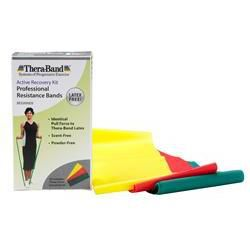 TheraBand® Latex-Free Professional Resistance Bands: Beginner Kit