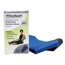 TheraBand® Latex-Free Professional Resistance Bands: Advanced Kit