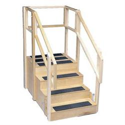Straight Platform Training Stairs