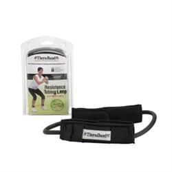 TheraBand® Resistance Tubing Loop With Padded Cuff