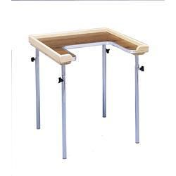 Adjustable Height Individual Cut Out Work Table