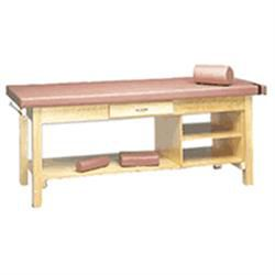 Treatment Table With Drawer & Shelf