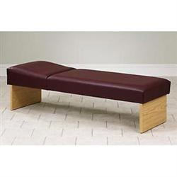 "Clinton Panel Leg Couch 24""W"