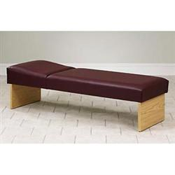"Clinton Panel Leg Couch 27""W"