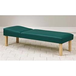 "Clinton Hardwood Leg Couch 27"" Wide"