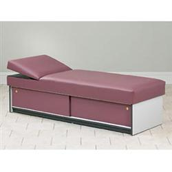 Apron Couch With Sliding Doors & Adjustable Wedge