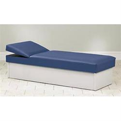 Clinton Solid Base Couch With Adjustable Wedge