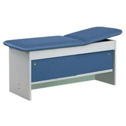 Clinton Cabinet Treatment Table W/Adjustable Back