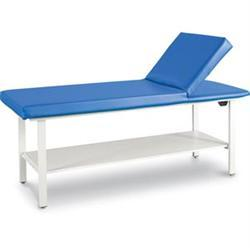 "Pro-Series Table W/ Adjustable Back & Shelf 36""H"