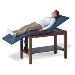 Hausmann Hi-Line Treatment Table with H-Brace & Shelf