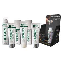 Biofreeze Pro - 10 Rolls & 28 Sprays Get 10Mix+Kit