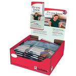 "Buy 15 CorPak Hot/Cold 6"" X 10"" Packs Get 1 Free & Display Pack"