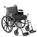 "Invacare® Tracer IV 22"" x 18"" Heavy Duty Wheelchair with Desk Arm"