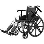 "Economy Lightweight Wheelchair-18"" W/Swing Footrst"