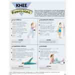 Knee Exercises, 50 Tear-Off Sheets/Pad