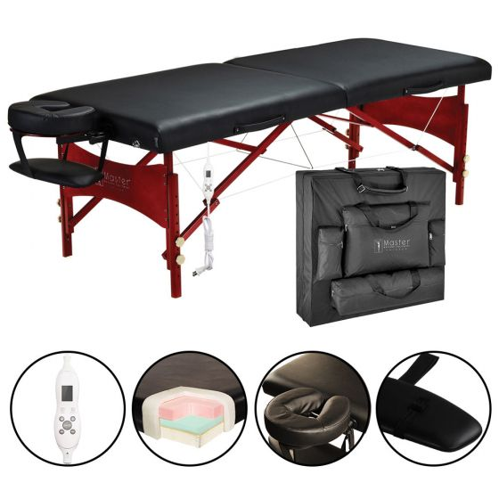 Master® Massage Roma™ Portable Massage Table with Therma-Top®
