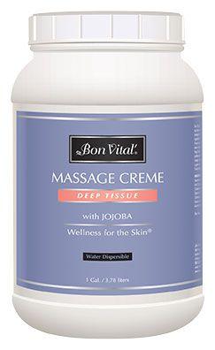 Bon Vital'® Deep Tissue Massage Crème