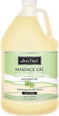 Bon Vital'® Therapeutic Touch™ Massage Gel with Olive Oil
