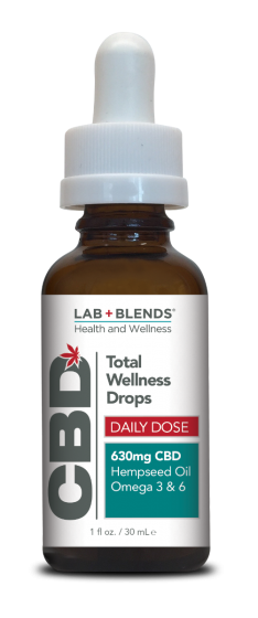 Lab+Blends® 630mg CBD Oral Tincture - 1 oz by BIOTONE®