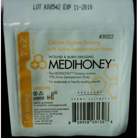 MEDIHONEY® Calcium Alginate Dressing with Active Leptospermum Honey