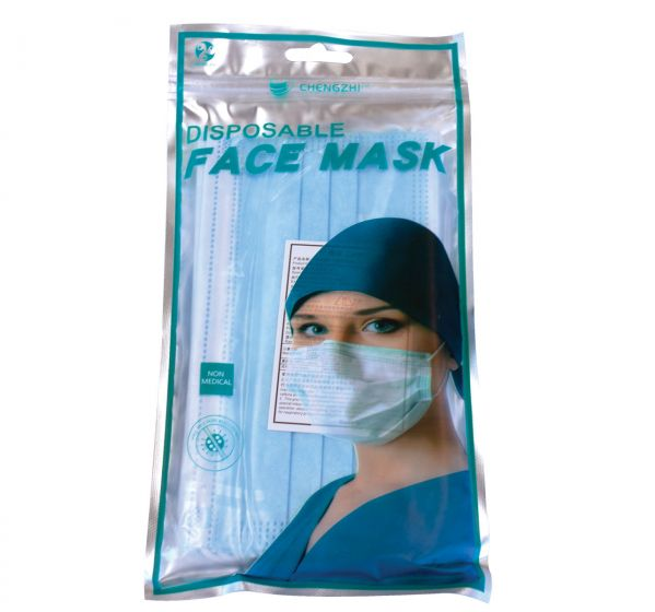 Disposable 3 Ply Mask - Retail - Pack Of 10