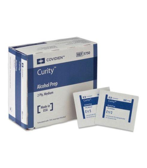 Curity™ Alcohol Prep Pads Sterile - Box 200