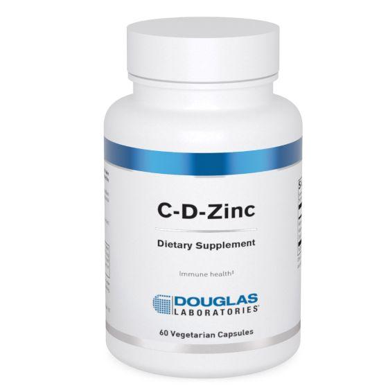 Douglas Labs® C-D-Zinc – 60 Capsules