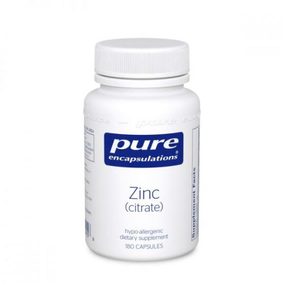 Pure Encapsulations® Zinc (Citrate)