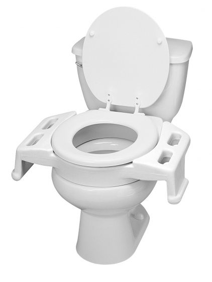Ableware Elevated Toilet Transfer Seat - 3