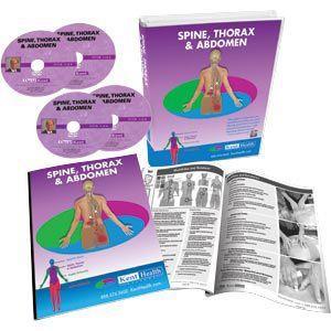 Spine Thorax & Abdomen Set Dvd Format