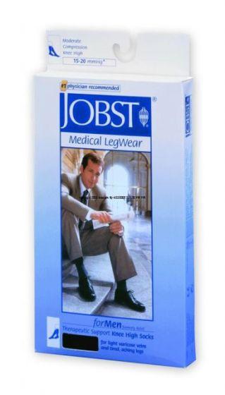 Jobst For Men Ribbed Knee-Hi 15-20Mmhg