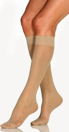 Ultrasheer Knee-Hi 8-15Mmhg Compression Stockings