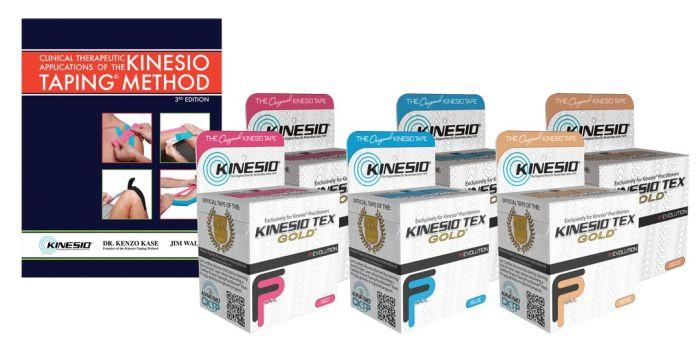 Kinesio Massage Therapist Starter Kit with Kinesio Tex Gold FP