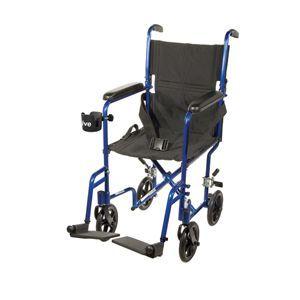 Drive Aluminum Transport Chair, Black