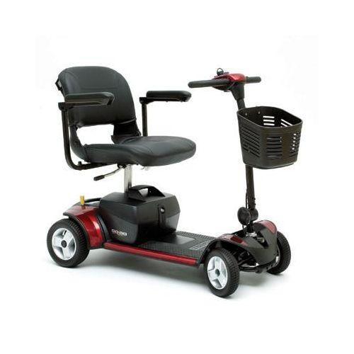 Go-Go Elite Traveller Plus 4 Wheel Mobil Scooter