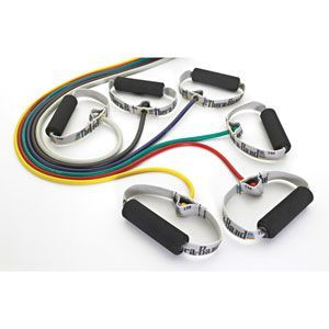 Thera-Band Professional Resistance Tubing W/ Soft Grip Polybagged