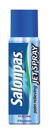 Salonpas Jet Spray, 4 fl oz (118mL) 36/Case