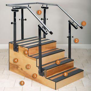 Adjustable One Sided Staircase 30